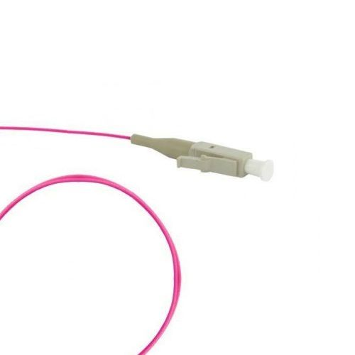 Кабель пигтейл (pigtail) LC MM OM4 40G (многомод 50/125) LSZH, 1 м. (FPT-B9-504-LC/PR-1M-LSZH-MG)